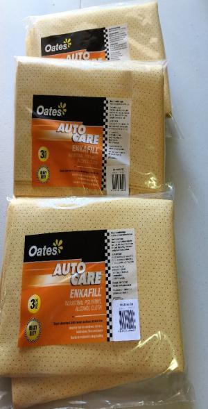 Oates Chamois 3pcs/pack 72x54cm