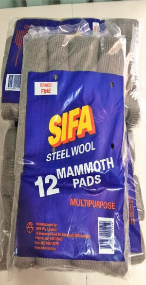 Steel Wool 12pcs/pack